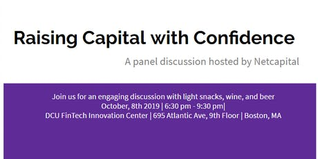 WE BOS Week 2019: Raising Capital with Confidence with Netcapital, JP Morgan, MassChallenge, and TechStars tickets