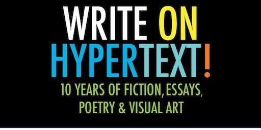 Write on Hypertext! Reading & Fundraiser