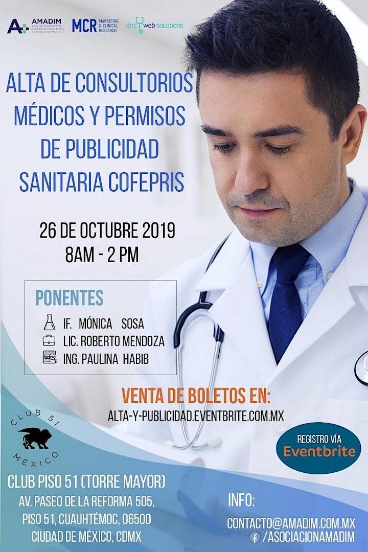 Imagen de Alta de Consultorios Médicos y Permisos de Publicidad Sanitaria COFEPRIS