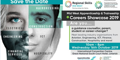 Mid West Apprenticeship & Traineeship Careers Showcase 2019