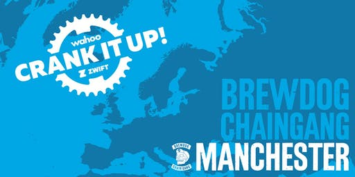 Crank it up! Manchester | Wahoo x Zwift
