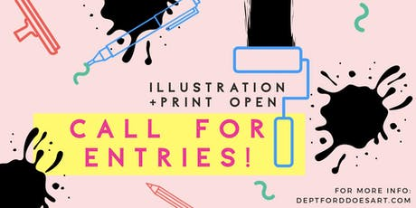 ILLUSTRATION + PRINT OPEN 2019 tickets