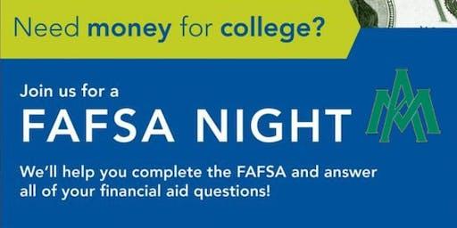 Monticello High School FAFSA Night
