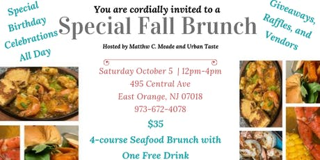 Urban Taste Presents: Fall Brunch tickets