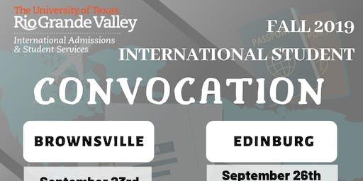Fall 2019 - Edinburg Convocation
