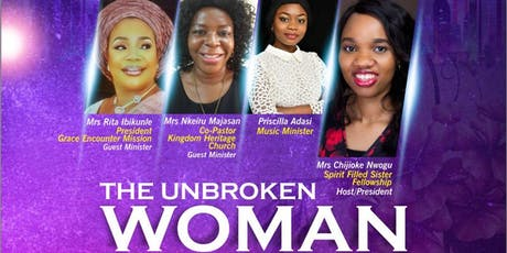 THE UNBROKEN WOMAN CONFERENCE tickets