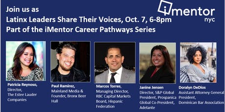 iMentor NYC Presents: Latinx Leaders Share Their Voices tickets