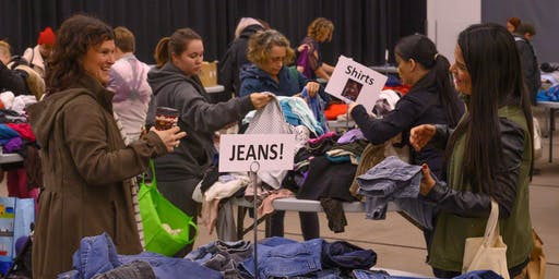 Thrive Thrift Shop CLOTHING SWAP!