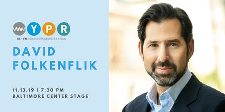WYPR presents an evening with NPR's David Folkenflik tickets