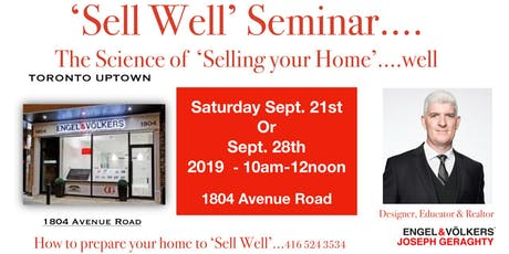 Sell Well - In Six Simple Steps tickets