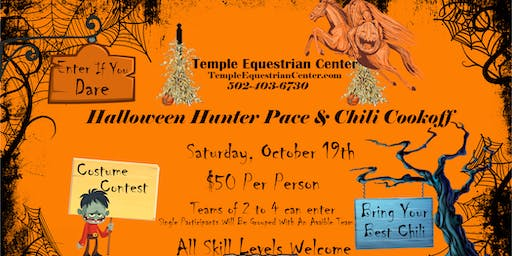 Halloween Hunter Pace & Chili Cookoff
