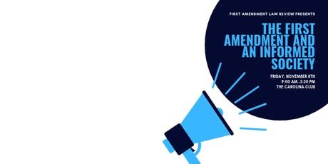 The First Amendment and an Informed Society tickets