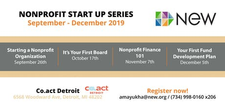Nonprofit Start Up Series - Fall 2019 tickets