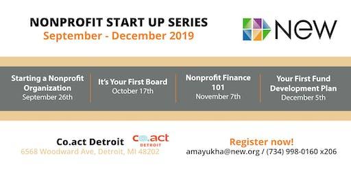 Nonprofit Start Up Series - Fall 2019
