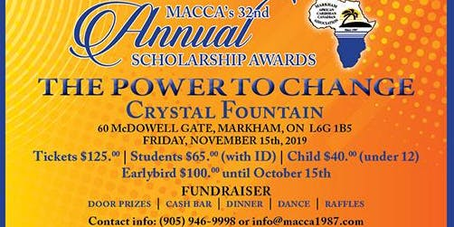 MACCA 32nd Annual Scholarship Awards