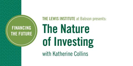 Financing the Future: The Nature of Investing tickets