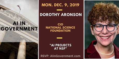 AI in Government - Dorothy Aronson, NSF tickets