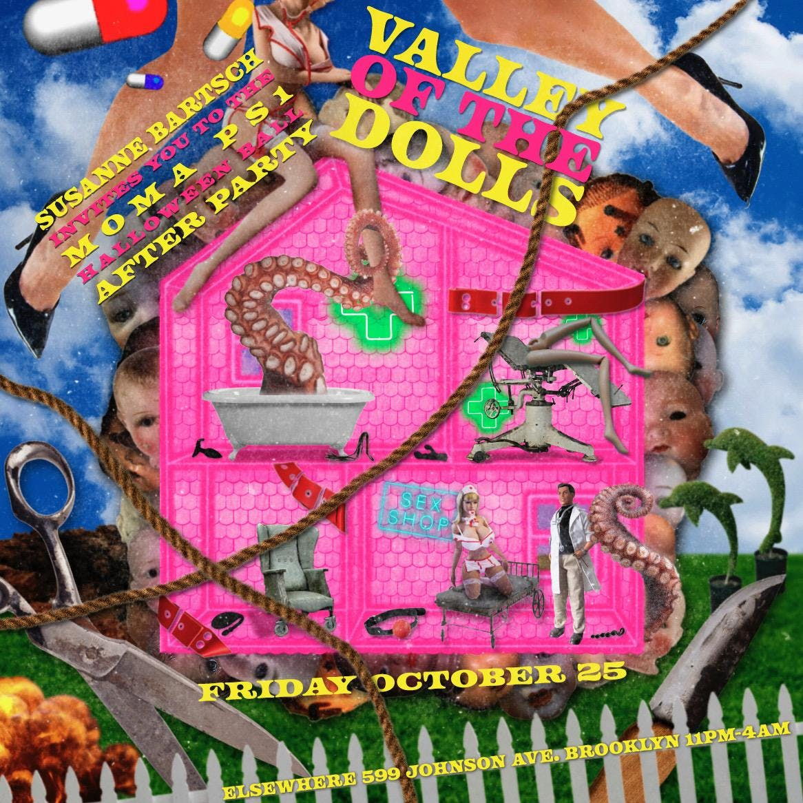 Susanne Bartsch's MoMA PS1 Halloween Ball After Party: Valley of the Dolls