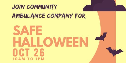 Safe Halloween: Community Ambulance Company
