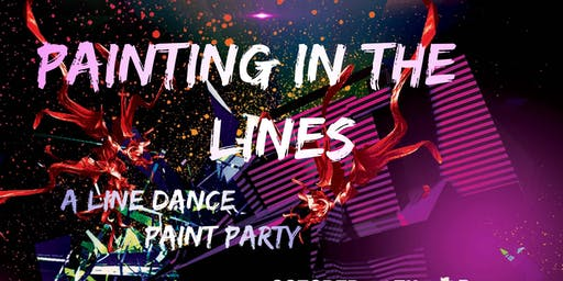 PAINTING IN THE LINES! (A Line Dance Paint Party)