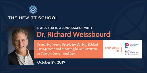 A Conversation with Dr. Richard Weissbourd