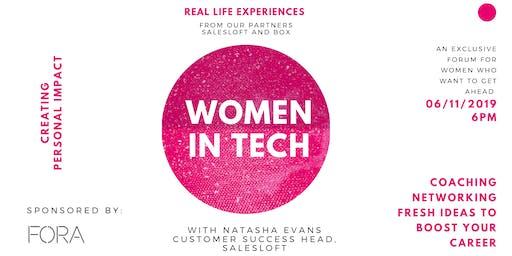 Women in Tech: Creating Personal Impact