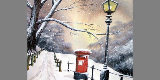 Watercolour Workshop- Snow Scene with Steve Coates