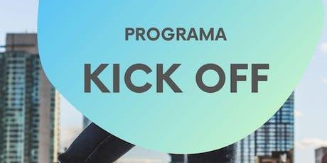 Programa Kick Off ingressos