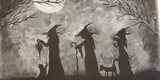 Three Witches Paint + Sip