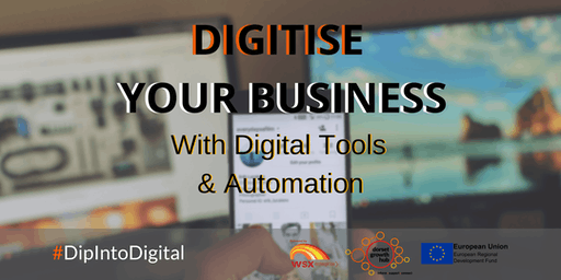 Digitise Your Business With Digital Tools & Automation - Poole - Dorset Growth Hub