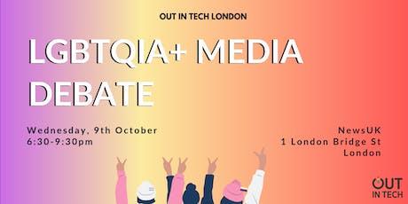 Out in Tech London | LGBTQIA+ Media Debate  tickets