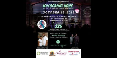 Unlocking Hope:A Night of Prayer, Praise & Worship