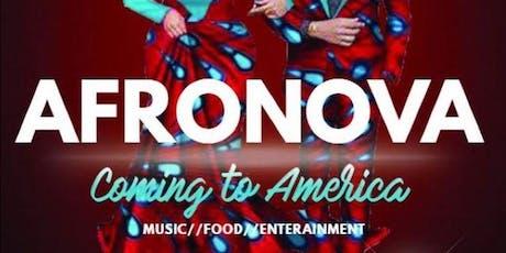 Afronova: Coming to America tickets