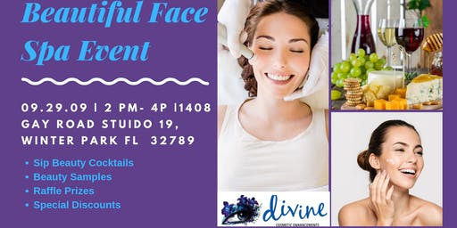 A Beautiful Face- Beauty and Wellness Event