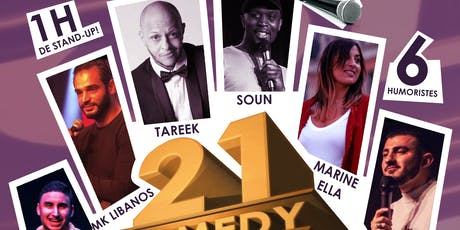 21 Comedy Folks #4 - Standup (La Rentrée) tickets