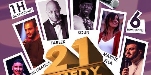 21 Comedy Folks #4 - Standup (La Rentrée)