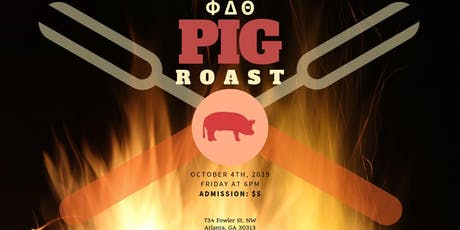 Phi Delt's 2nd Annual Parent's Weekend Pig Roast! tickets