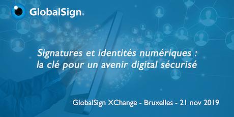 Evénement GlobalSign XChange tickets