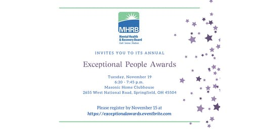 Annual Exceptional People Awards 2019