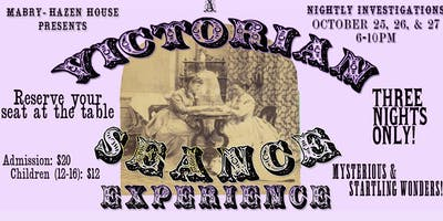 A Victorian Seance Experience