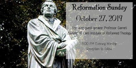 Reformation Sunday Service & Reception tickets