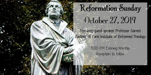 Reformation Sunday Service & Reception