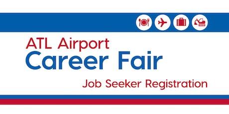 ATL Airport Career Fair Fall 2019 tickets