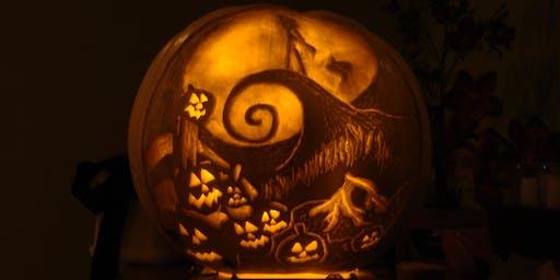 Spooky Pumpkin Carving Workshop!