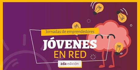"""2da Edición Jornada de Emprendedores: """"Jovenes en Red"""" entradas"""
