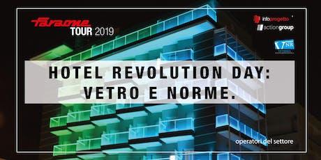 HOTEL REVOLUTION DAY biglietti