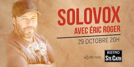 Solovox avec Éric Roger