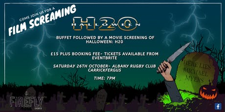 Film Screaming: Halloween H20 tickets