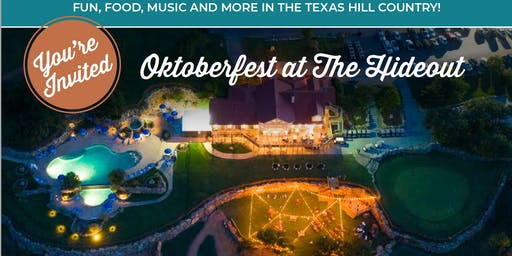 Oktoberfest at The Hideout