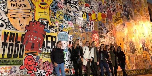 Recorrido de ARTE URBANO + Visita a TALLER de artistas (Entrada incluye cerveza Rabieta)